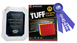 TUFF HANGING FOLDER WINS ORGANIZERS' CHOICE AWARD