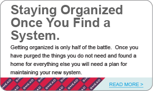 Staying Organized Once You Find a System