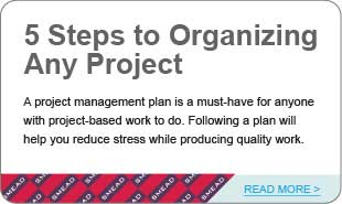 5 Steps to Organizing Any Project