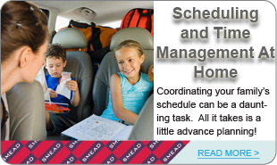 Scheduling and Time  Management At Home