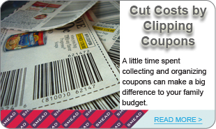 Cut Costs by Clipping  Coupons