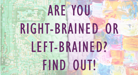 Right-Brain/Left-Brain Quiz