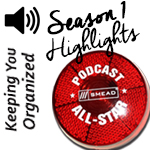 Podcast: 047 Organizing Tips: Highlights from Season One