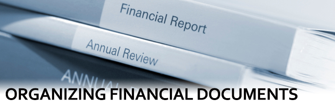 Organizing Financial Documents