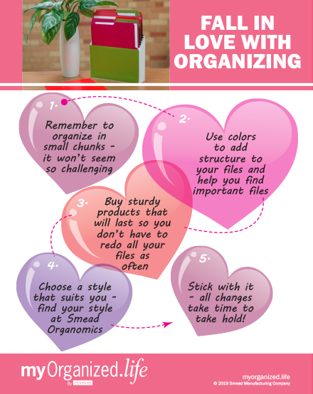 Infographic: 5 Tips to Get Organized
