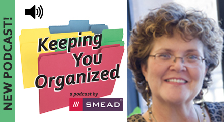 Professional Organizer Maureen Heinen explains how to get organized with