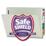 End Tab Pressboard Fastener Folders with SafeSHIELD® Fasteners