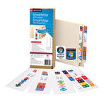 Smead Smartstrip® Labeling System 66000, Starter Kit, End Tab Labels, Ink-Jet Printers
