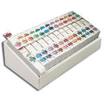 Smead BCCR Bar-Style Color-Coded Alphabetic Label 67070, A-Z, Label Roll, Assorted Colors