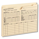 Smead Employee Record File Jacket 77101, Reinforced Straight-Cut Tab, 1
