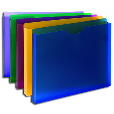 Poly Expanding File Jackets