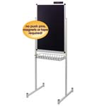 "24"" x 36"" Promo Stand Single Side Black"
