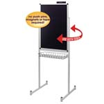 "24"" x 36"" Promo Stand Double Side Black"