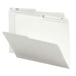 Smead Reversible File Folder 10146, 1/2-Cut Printed Tab, Letter, Ivory
