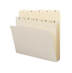 Smead Indexed File Folder Set 11769, Daily (1-31) Folders, Reinforced 1/5-Cut Tab, Letter, Manila