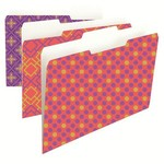 Colored File Folders - Fashion Collection