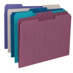 Smead File Folder 11948, 1/3-Cut Tab, Letter, Assorted Colors