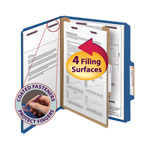 Pressboard Classification Folders with SafeSHIELD® Fasteners
