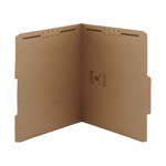 Smead Fastener File Folder 14880, 2 Fasteners, Reinforced 2/5-Cut Tab Right of Center Position, Letter, Kraft