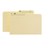 Smead Reversible File Folder 15138, 1/2-Cut Printed Tab, Legal, Manila
