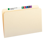Smead File Folder 15300, Straight-Cut Tab, Legal, Manila