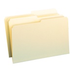 Smead File Folder 15320, 1/2-Cut Tab, Legal, Manila