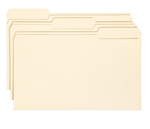 Smead File Folder 15330, 1/3-Cut Tab, Legal, Manila