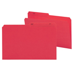 Smead Reversible File Folder 15372, 1/2-Cut Printed Tab, Legal, Red
