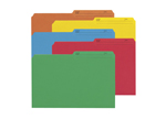 Smead Reversible File Folder 15394, 1/2-Cut Printed Tab, Legal, Assorted Colors
