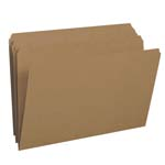 Smead File Folder 15710, Reinforced Straight-Cut Tab, Legal, Kraft