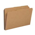 Smead File Folder 15734, Reinforced 1/3-Cut Tab, Legal, Kraft