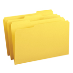 Smead File Folder 17934, Reinforced 1/3-Cut Tab, Legal, Yellow