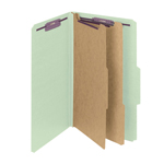 Smead PressGuard® Classification File Folder with SafeSHIELD® Fasteners 19206, 2 Dividers, 2