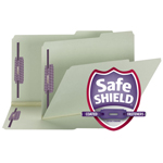 Smead Pressboard Fastener File Folder 19920, 2 Fasteners, 2/5-Cut Tab Right Position, 2