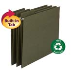 100% Recycled FasTab® Hanging Folders