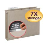 Smead TUFF® Hanging Box Bottom Folder with Easy Slide™ Tab 64240, 2