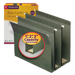 Smead Hanging Box Bottom Folder 64260, Assorted Expansions, Letter, Standard Green