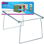 Smead Steel Hanging Folder Frame 64870, Letter, Gray