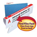 Viewables® Premium 3D Hanging Folder Tabs & Labels