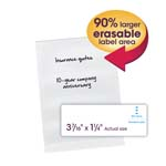 Smead Erasable SuperTab® File Folder Labels 64917, White