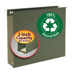100% Recycled Extra Capacity Hanging Folders (Box Bottom)