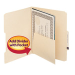 Self-Adhesive Folder Dividers with Pockets