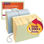 Smead Expanding File 70220, Multi-Indexed (A-Z, Jan.-Dec., 1-31), 21 Pockets, Flap and Cord Closure, Letter, Assorted Colors