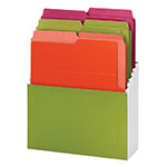 Organized Up® Vertical Stadium® File with Heavyweight Vertical Folders