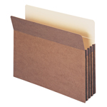 Smead File Pocket 73224, Straight-Cut Tab, 3-1/2