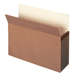 Smead File Pocket 73234, Straight-Cut Tab, 5-1/4