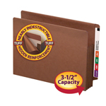 TUFF® End Tab File Pockets with Reinforced Tab