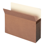 Smead File Pocket 73810, Straight-Cut Tab, 5-1/4