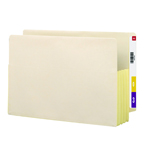 Smead End Tab File Pocket 76164, Reinforced Straight-Cut Tab, 3-1/2