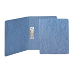 Smead PressGuard® Report Cover 83052, Punchless Style Fasteners, 125 Sheets, Letter, Blue